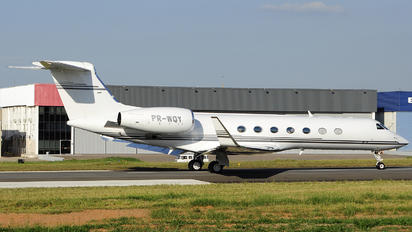 PR-WQY - Private Gulfstream Aerospace G-V, G-V-SP, G500, G550