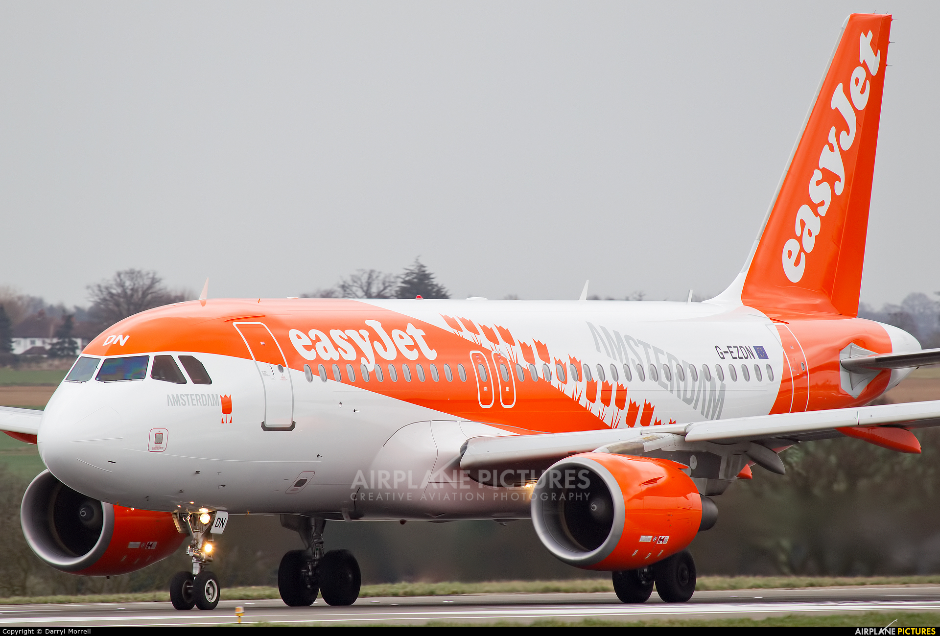 EasyJet G EZDN Aircraft At London