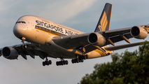 9V-SKB - Singapore Airlines Airbus A380 aircraft