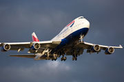 G-CIVG - British Airways Boeing 747-400 aircraft