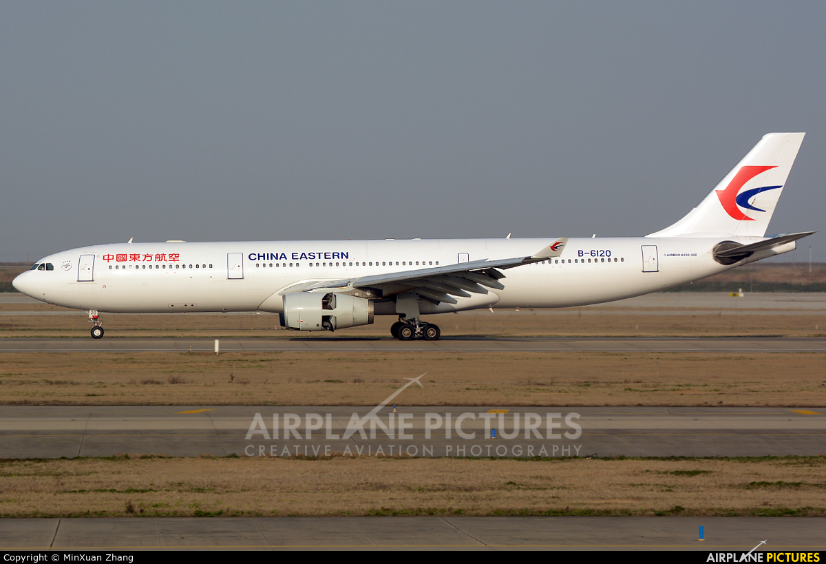 B 6120 china eastern airlines airbus a330 300 at - China eastern airlines sydney office ...