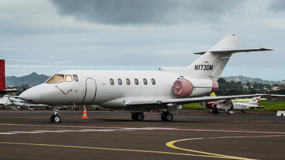 N1730M - Private Hawker Beechcraft 800XP