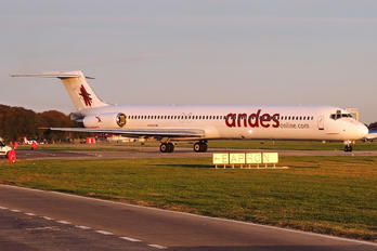 LV-CCJ - Andes Lineas Aereas  McDonnell Douglas MD-83
