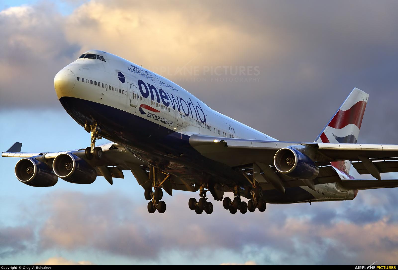British Airways G-CIVI aircraft at London - Heathrow