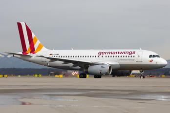 D-AGWB - Germanwings Airbus A319
