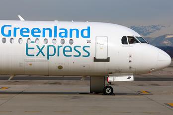 PH-MJP - Greenland Express Fokker 100
