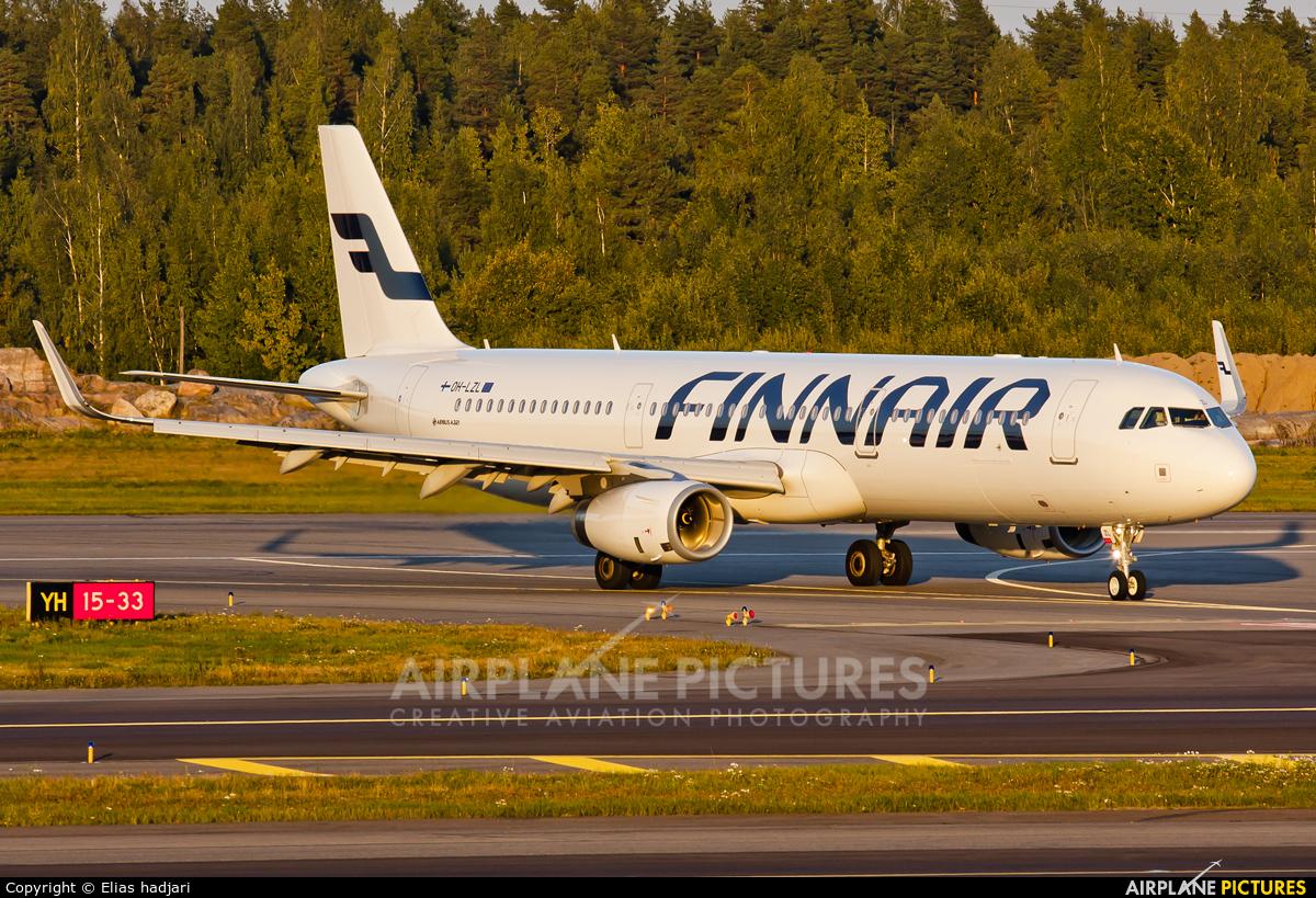 Finnair OH-LZL aircraft at Helsinki - Vantaa