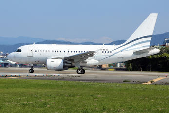 B-55411 - Private Airbus A318