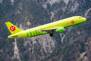 VQ-BET - S7 Airlines Airbus A320 aircraft