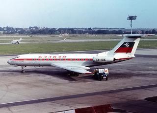 LZ-TUE - Balkan Tupolev Tu-134