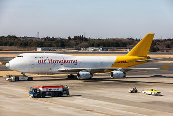B-HUS - Air Hong Kong Boeing 747-400BCF, SF, BDSF