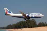 EI-XLM - Transaero Airlines Boeing 747-400 aircraft