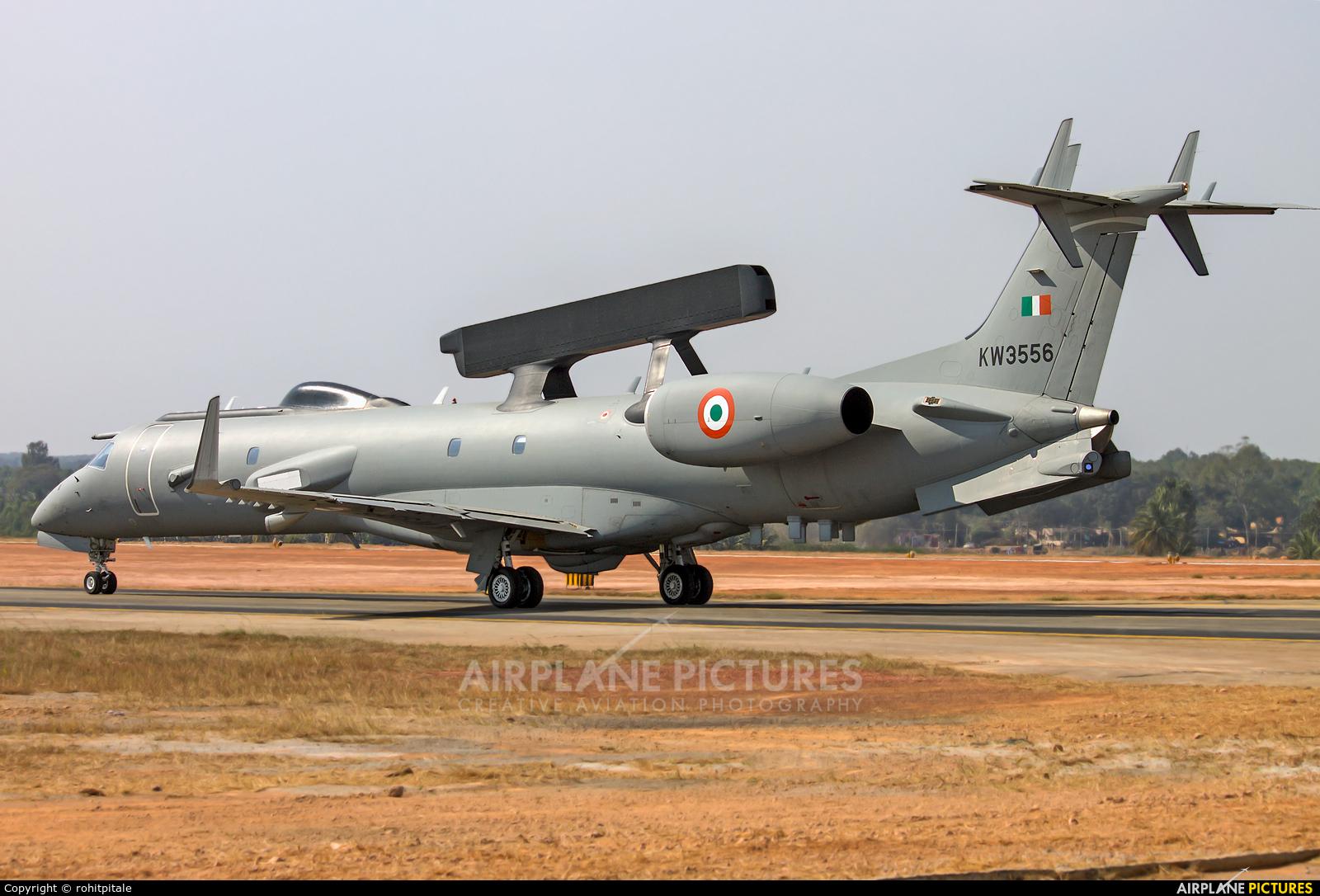India - Air Force KW3556 aircraft at Yelahanka AFB