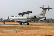 KW3556 - India - Air Force Embraer ERJ-145 aircraft
