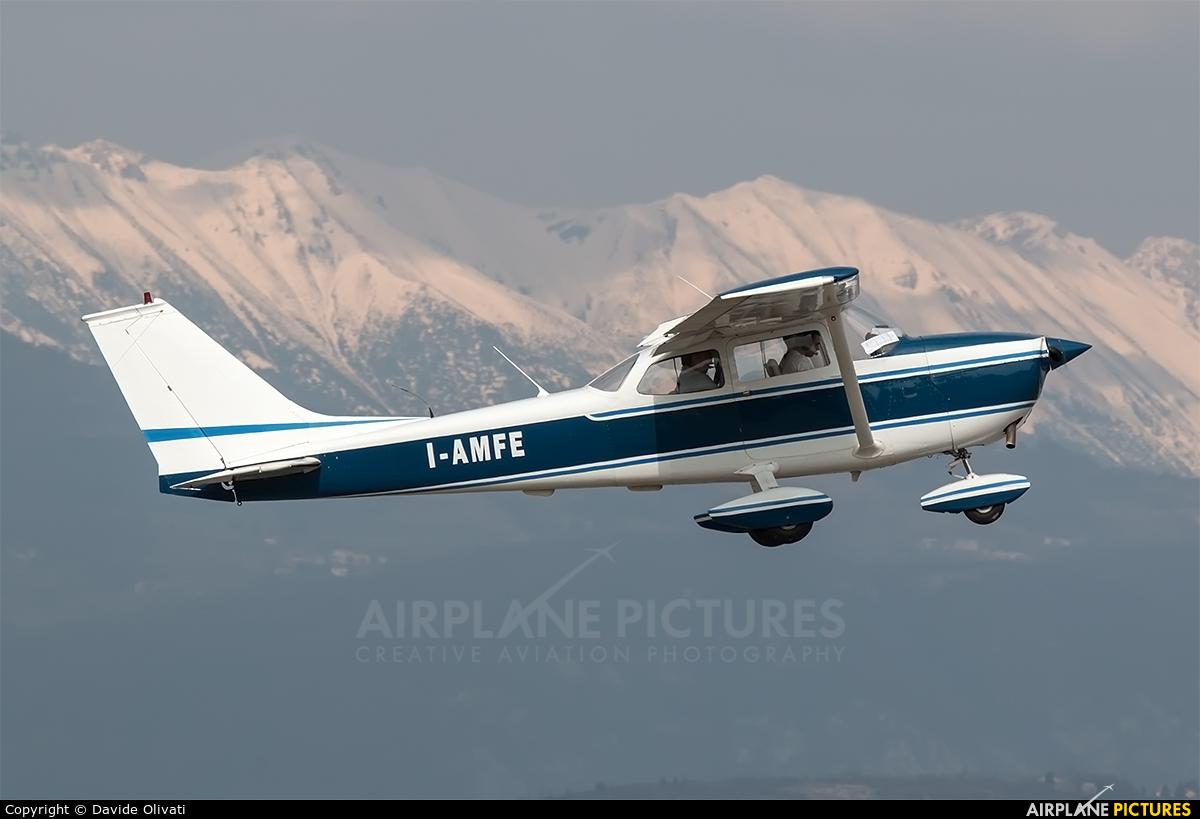 Private I-AMFE aircraft at Verona - Boscomantico