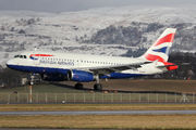 G-DBCI - British Airways Airbus A319 aircraft