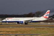G-LCYN - British Airways - City Flyer Embraer ERJ-190 (190-100) aircraft