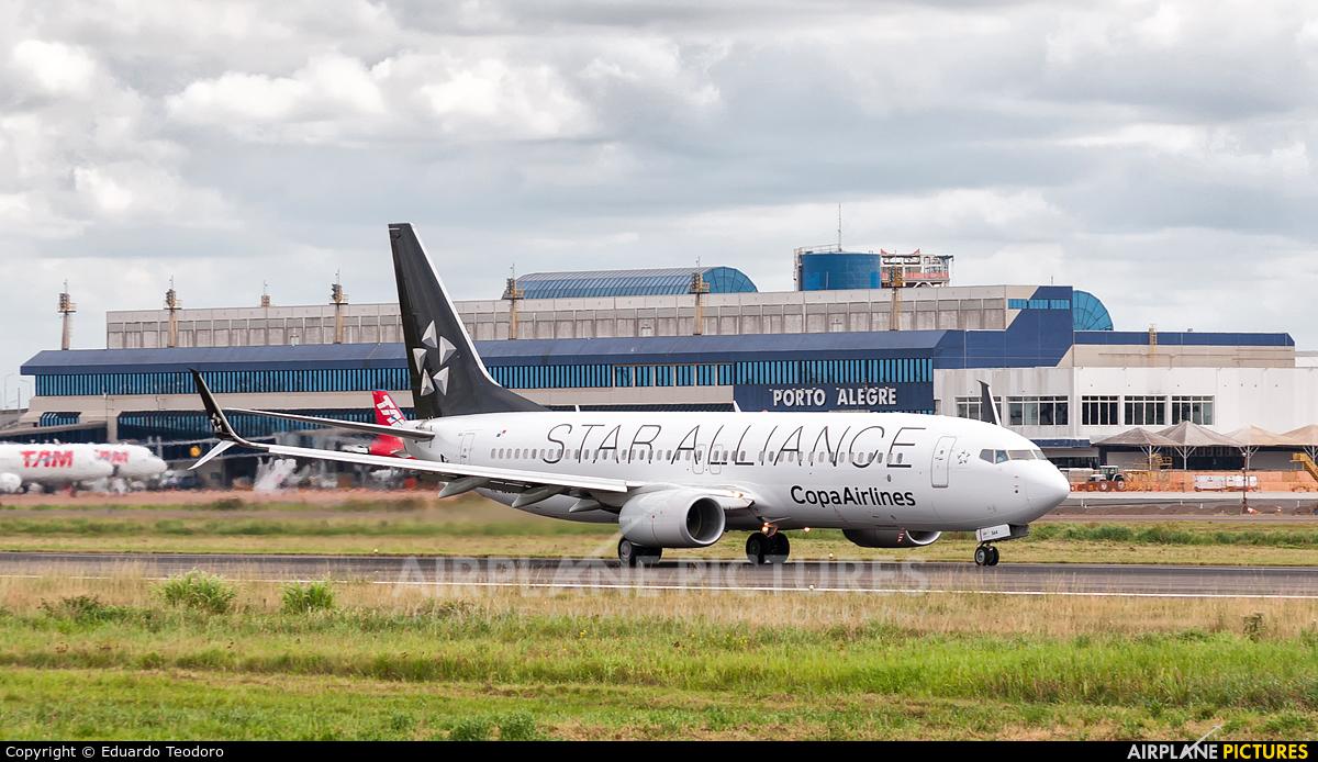 Copa Airlines HP-1823CMP aircraft at Porto Alegre - Salgado Filho