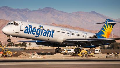N892GA - Allegiant Air McDonnell Douglas MD-83