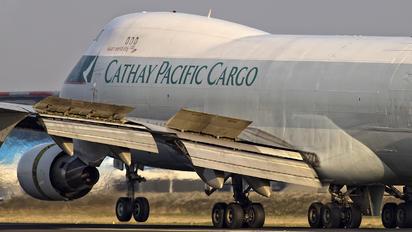 B-LIB - Cathay Pacific Cargo Boeing 747-400F, ERF