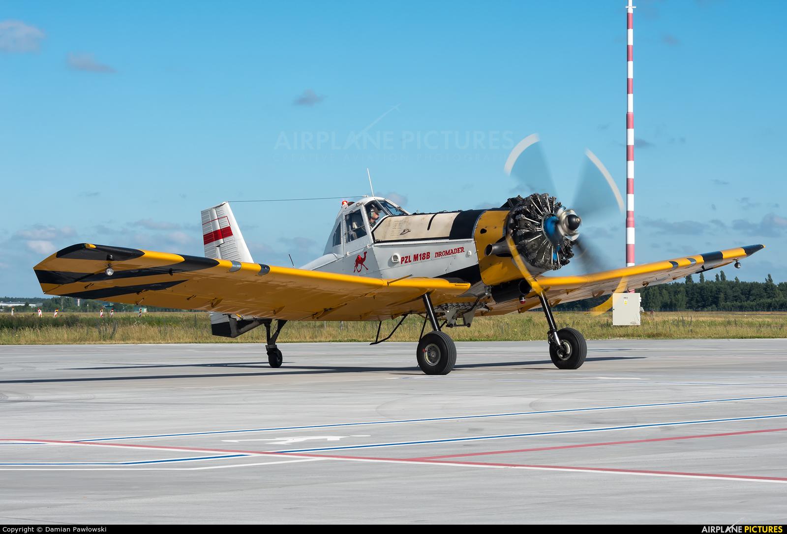 Aerogryf SP-FFX aircraft at Bydgoszcz - Szwederowo