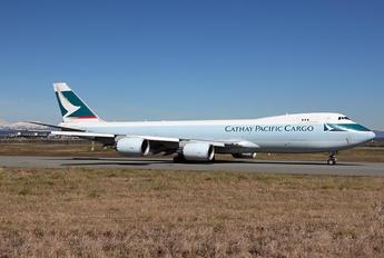 B-LJI - Cathay Pacific Boeing 747-8F