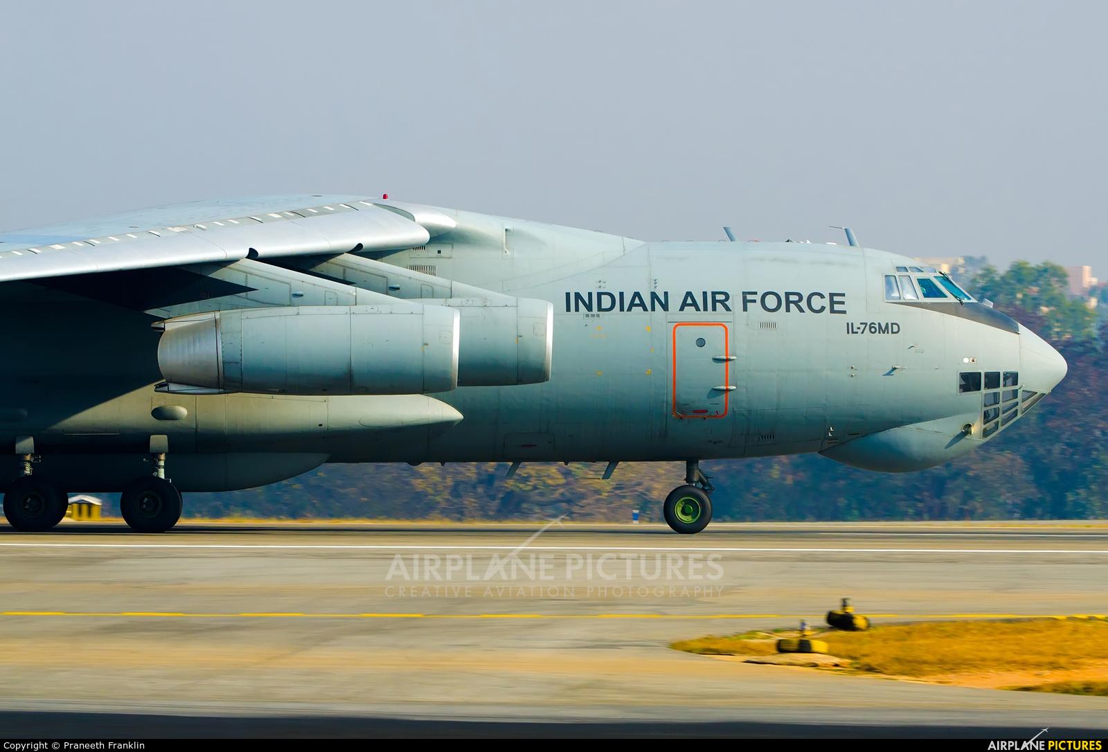 India - Air Force K3013 aircraft at Yelahanka AFB
