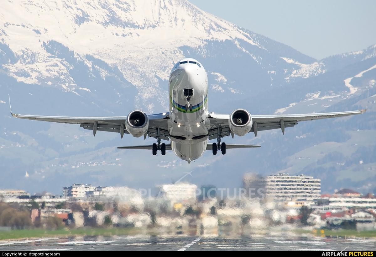 Transavia PH-HSB aircraft at Innsbruck