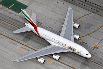 A6-EEU - Emirates Airlines Airbus A380