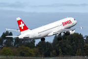 HB-IJS - Swiss Airbus A320 aircraft