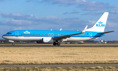 PH-BXU - KLM Boeing 737-800
