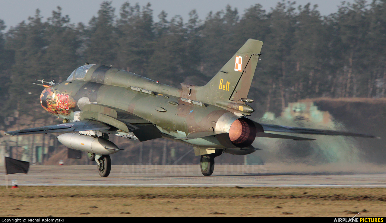 Poland - Air Force 8919 aircraft at Świdwin