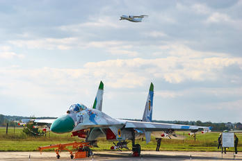 27 - Ukraine - Air Force Sukhoi Su-27