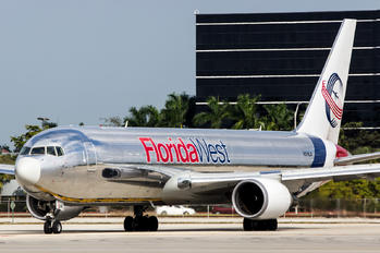 N316LA - Florida West Boeing 767-300F