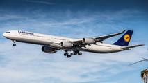 D-AIHR - Lufthansa Airbus A340-600 aircraft