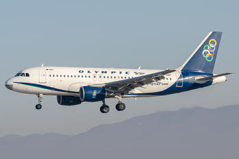 SX-OAF - Olympic Airlines Airbus A319