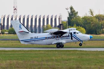 OK-SLZ - KrasAvia LET L-410UVP-E20 Turbolet