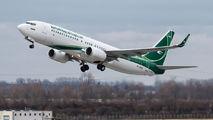 YI-ASQ - Iraqi Airways Boeing 737-800 aircraft