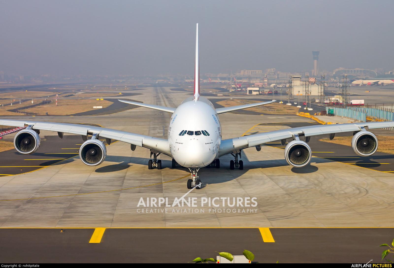 Emirates Airlines A6-EOB aircraft at Mumbai - Chhatrapati Shivaji Intl