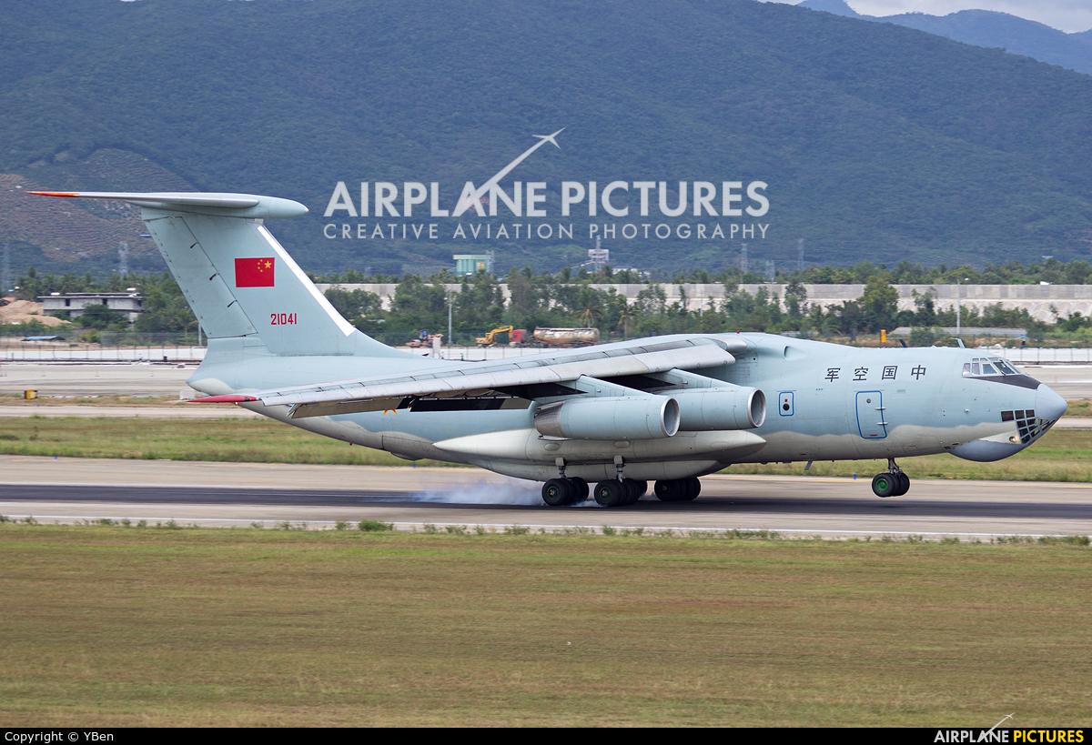 21041 - China - Air Force Ilyushin Il-76 (all models) at ...
