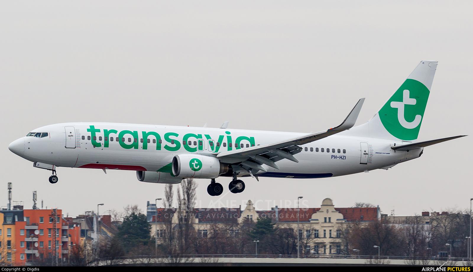 Transavia PH-HZI aircraft at Berlin - Tegel