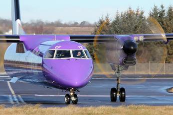 G-JECF - Flybe de Havilland Canada DHC-8-400Q / Bombardier Q400