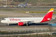 EC-MEG - Iberia Express Airbus A320 aircraft