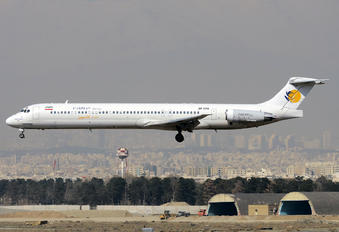 EP-CPU - Caspian Airlines McDonnell Douglas MD-83