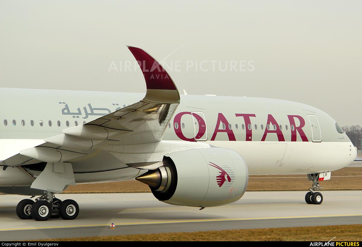 Qatar Airways A7-ALB aircraft at Frankfurt