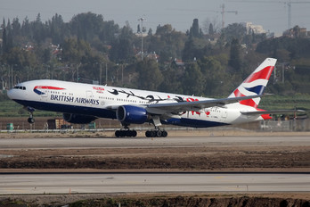 G-YMML - British Airways Boeing 777-200ER