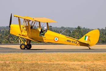 HU-512 - India - Air Force de Havilland DH. 82 Tiger Moth