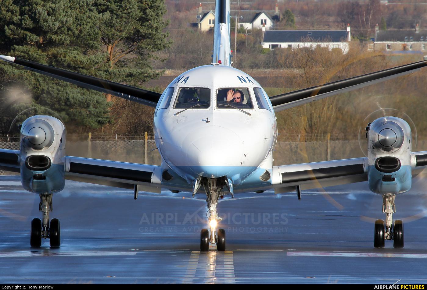 FlyBe - Loganair G-LGNA aircraft at Edinburgh