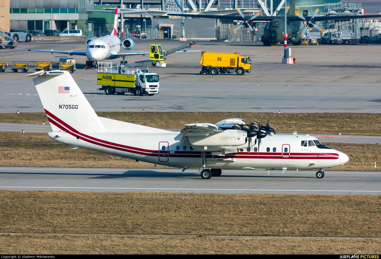 USA - Army N705GG aircraft at Stuttgart