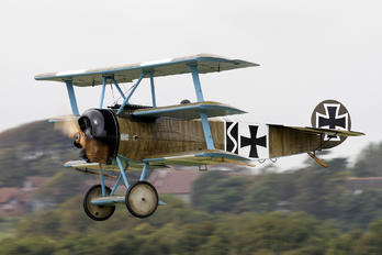 G-CDXR - Private Fokker DR1 Triplane